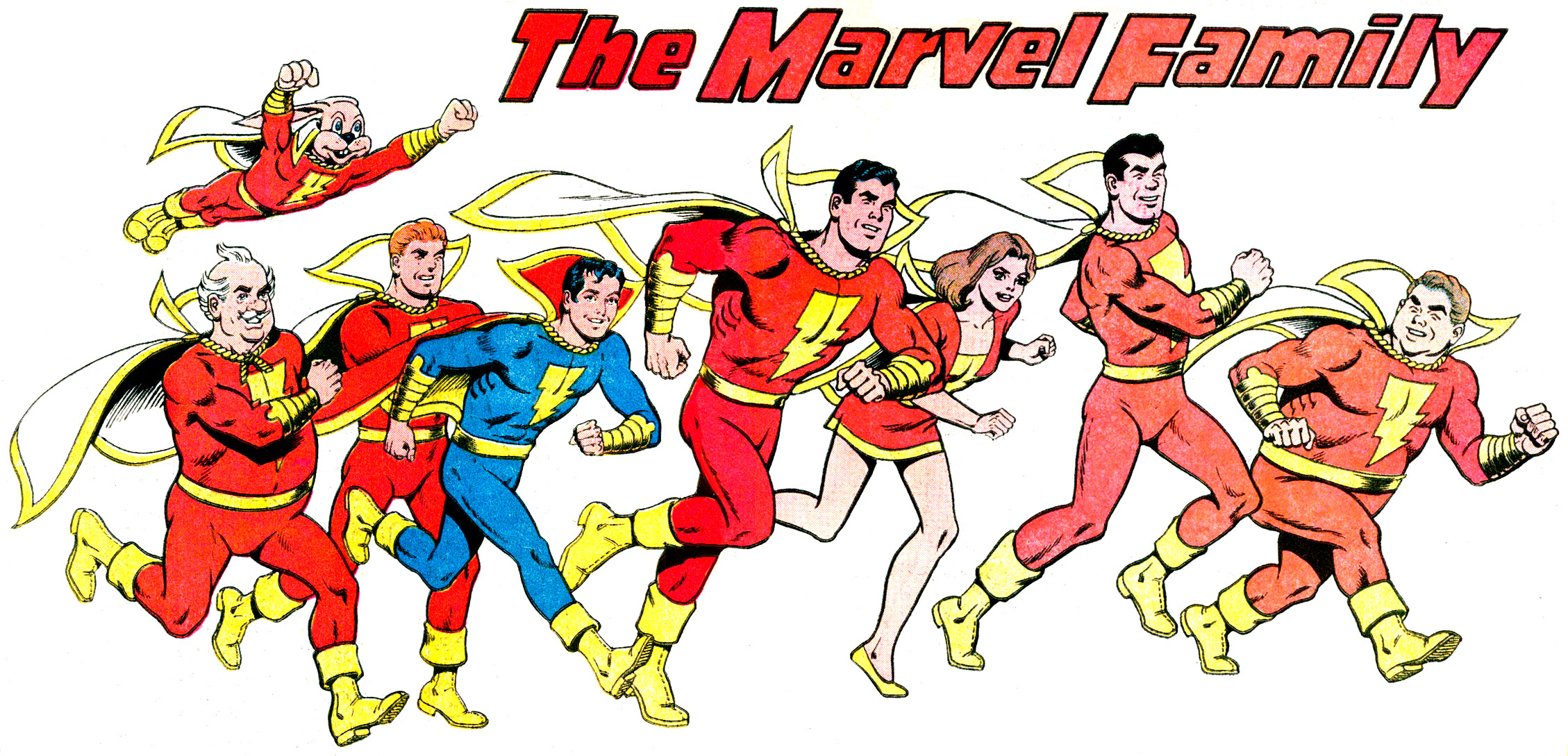 Captain Marvel Aka Shazam Dc Comics Pre Crisis Era