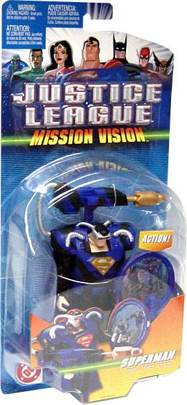 "Mattel Justice League 4.75"" scale Green Lantern /& Darkseid Mission Vision New"