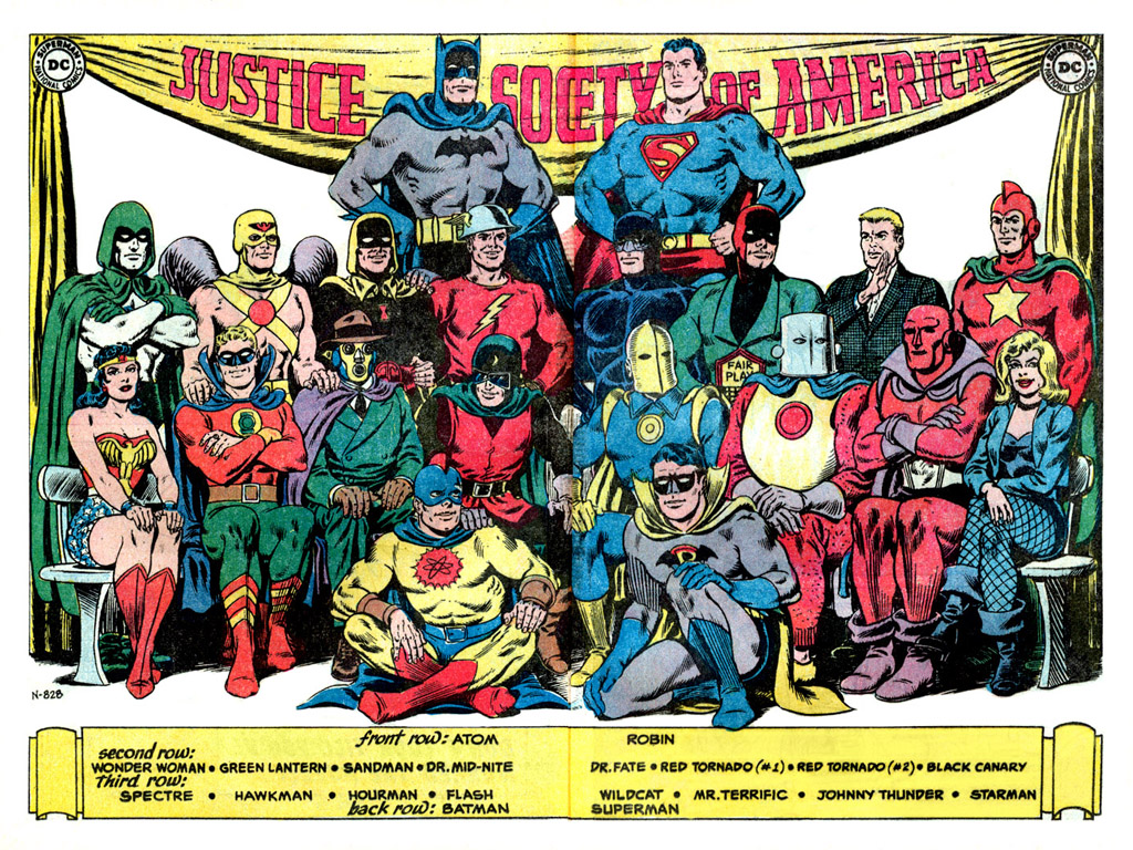 Who is the Justice Society of America?