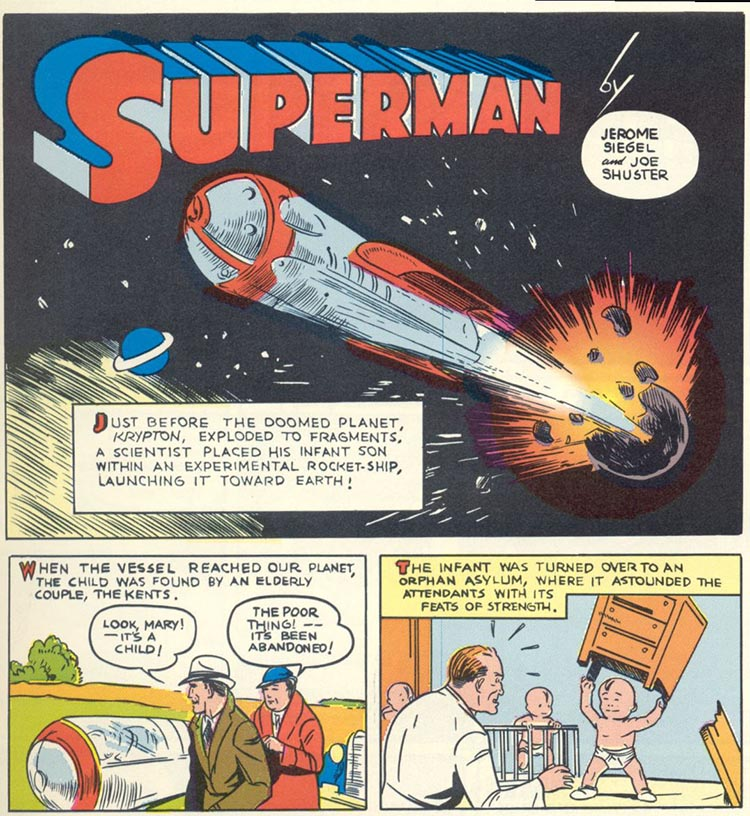 The Golden Age (original) Superman on