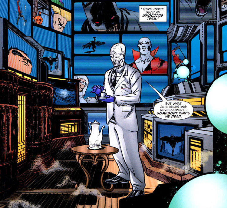 Batman's Butler, Alfred Pennyworth (aka the Outsider, with
