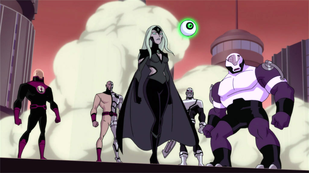 History + Chronology of the Animated Legion of Super-Heroes