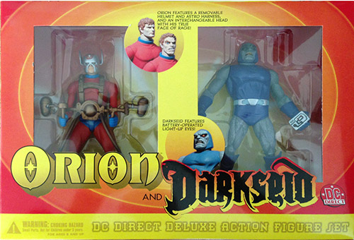 Orion and Darkseid DC Direct Deluxe Action Figure 2 Pack