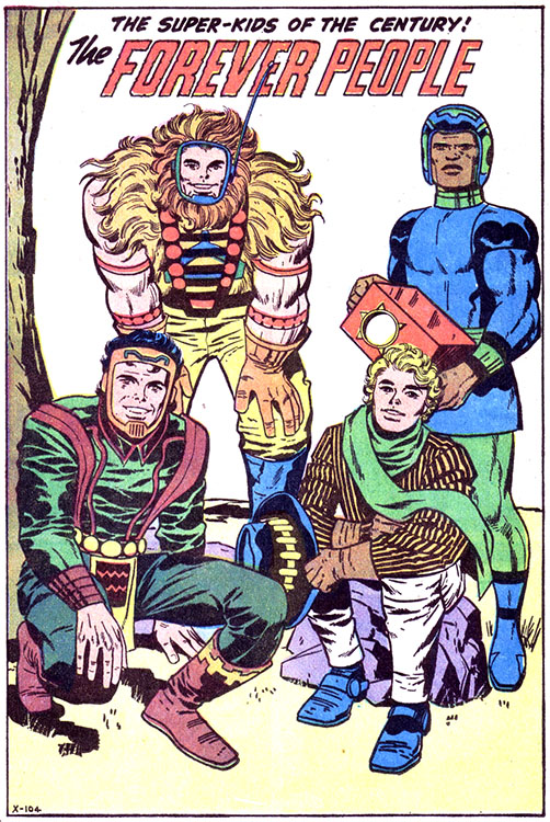 History of the New Gods, Part 1 (Original Kirby)