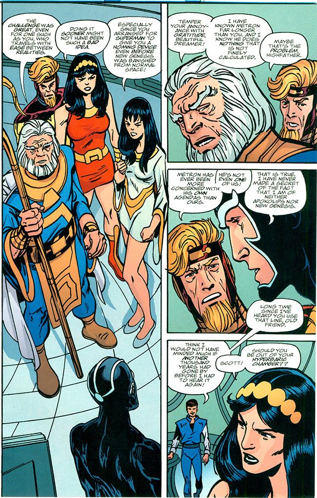 Jack Kirby's New Gods: Elseworlds and Parodies